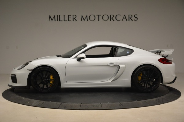Used 2016 Porsche Cayman GT4 for sale Sold at Rolls-Royce Motor Cars Greenwich in Greenwich CT 06830 3