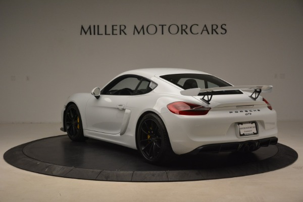 Used 2016 Porsche Cayman GT4 for sale Sold at Rolls-Royce Motor Cars Greenwich in Greenwich CT 06830 5