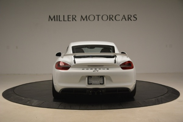Used 2016 Porsche Cayman GT4 for sale Sold at Rolls-Royce Motor Cars Greenwich in Greenwich CT 06830 6