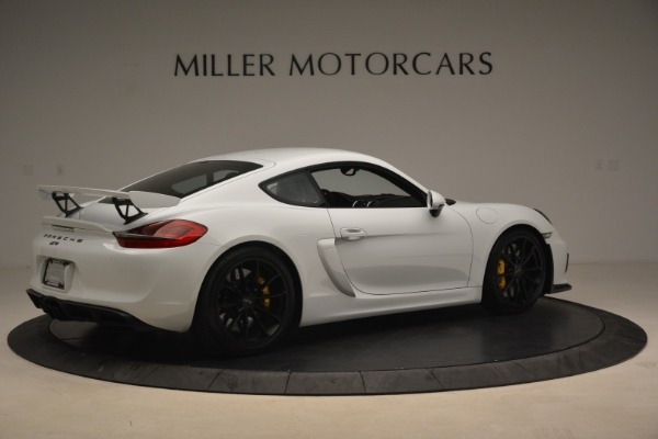 Used 2016 Porsche Cayman GT4 for sale Sold at Rolls-Royce Motor Cars Greenwich in Greenwich CT 06830 8