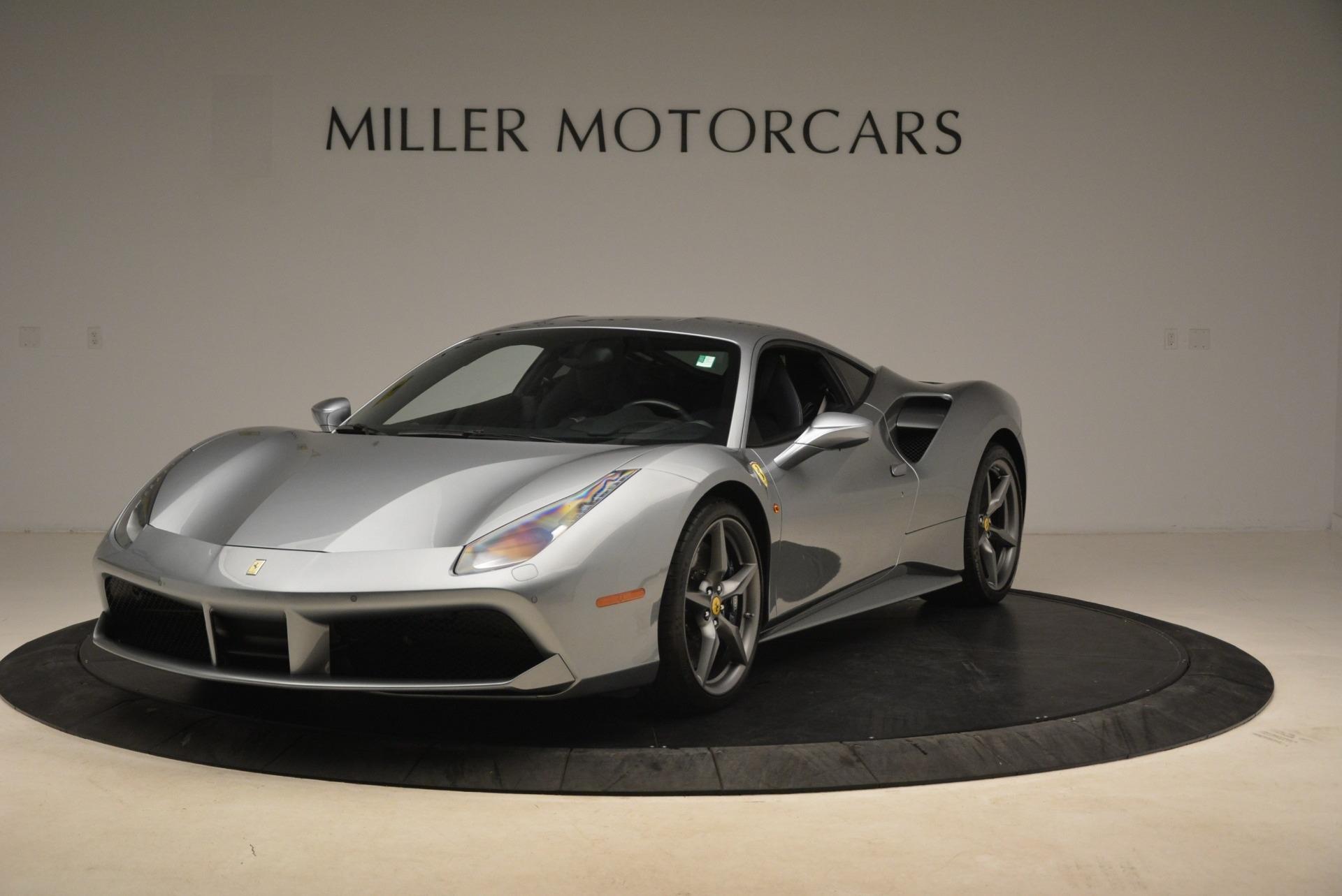 Used 2017 Ferrari 488 GTB for sale Sold at Rolls-Royce Motor Cars Greenwich in Greenwich CT 06830 1