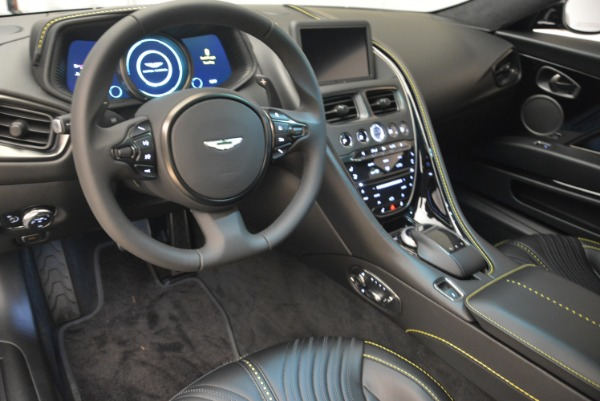 Used 2018 Aston Martin DB11 V8 Coupe for sale Sold at Rolls-Royce Motor Cars Greenwich in Greenwich CT 06830 14