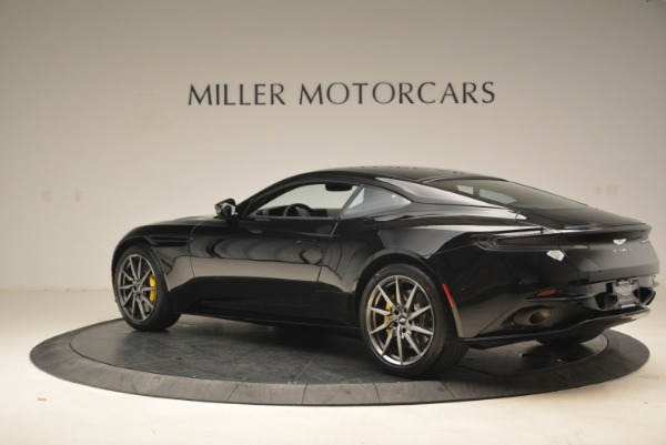 Used 2018 Aston Martin DB11 V8 Coupe for sale $149,990 at Rolls-Royce Motor Cars Greenwich in Greenwich CT 06830 4