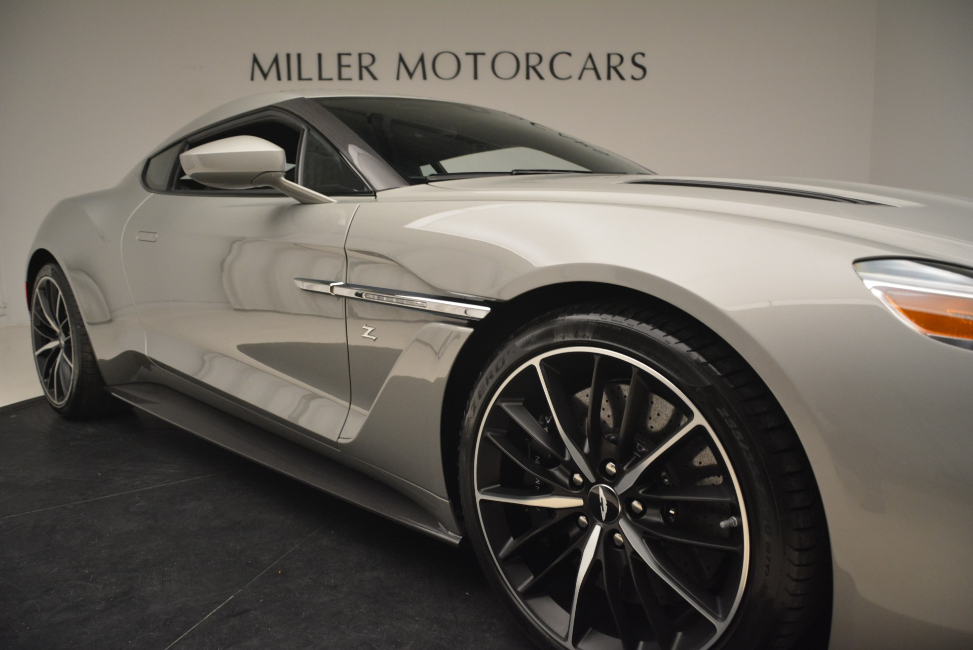 Pre Owned 2018 Aston Martin Vanquish Zagato For Sale Special Pricing Rolls Royce Motor Cars Greenwich Stock 7346c