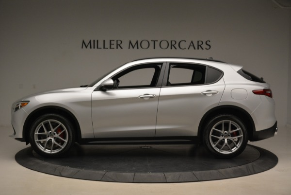 New 2018 Alfa Romeo Stelvio Ti Sport Q4 for sale Sold at Rolls-Royce Motor Cars Greenwich in Greenwich CT 06830 3