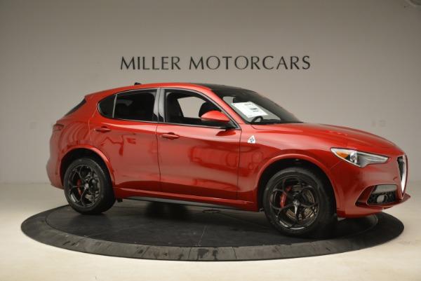 New 2018 Alfa Romeo Stelvio Quadrifoglio for sale Sold at Rolls-Royce Motor Cars Greenwich in Greenwich CT 06830 10