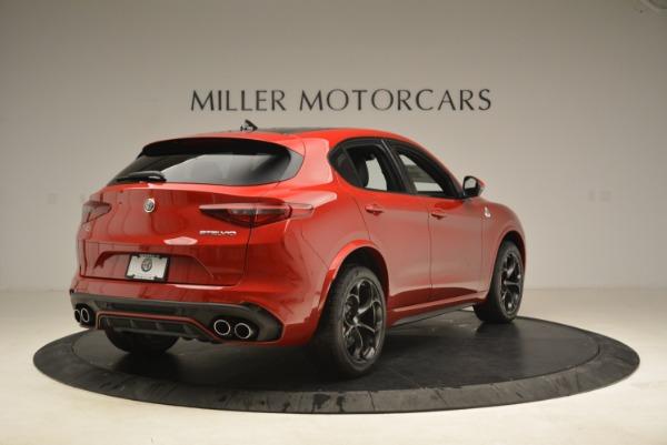 New 2018 Alfa Romeo Stelvio Quadrifoglio for sale Sold at Rolls-Royce Motor Cars Greenwich in Greenwich CT 06830 7