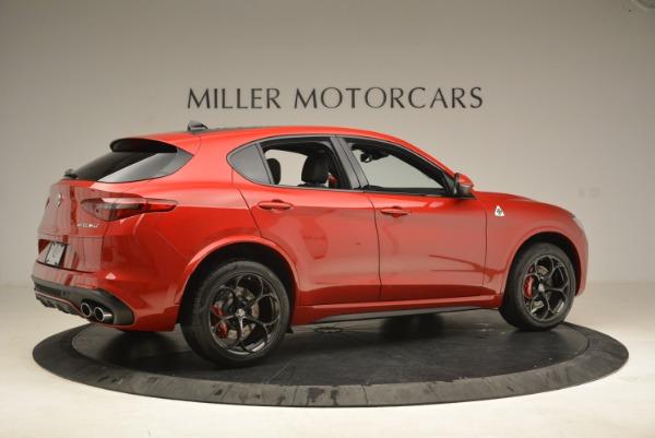 New 2018 Alfa Romeo Stelvio Quadrifoglio for sale Sold at Rolls-Royce Motor Cars Greenwich in Greenwich CT 06830 8