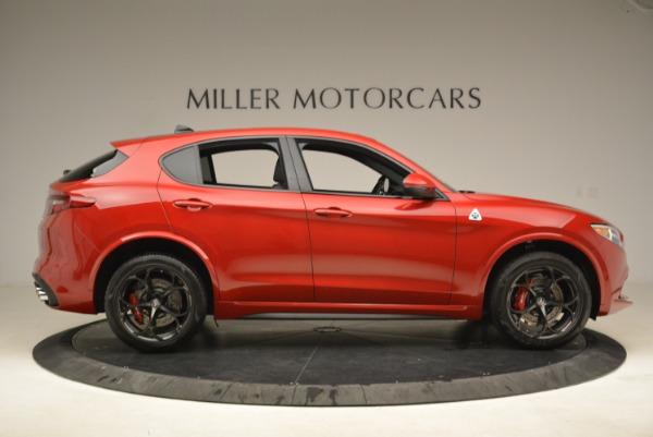 New 2018 Alfa Romeo Stelvio Quadrifoglio for sale Sold at Rolls-Royce Motor Cars Greenwich in Greenwich CT 06830 9