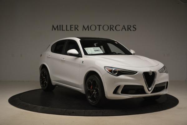 New 2018 Alfa Romeo Stelvio Quadrifoglio for sale Sold at Rolls-Royce Motor Cars Greenwich in Greenwich CT 06830 12