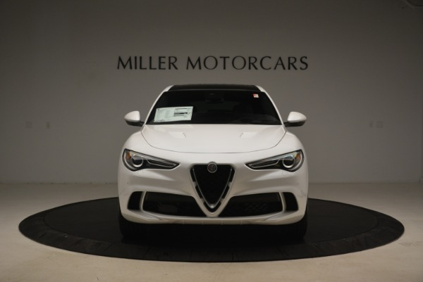 New 2018 Alfa Romeo Stelvio Quadrifoglio for sale Sold at Rolls-Royce Motor Cars Greenwich in Greenwich CT 06830 13