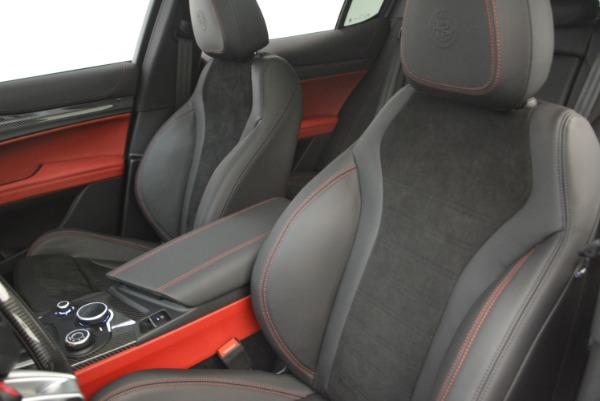 New 2018 Alfa Romeo Stelvio Quadrifoglio for sale Sold at Rolls-Royce Motor Cars Greenwich in Greenwich CT 06830 16