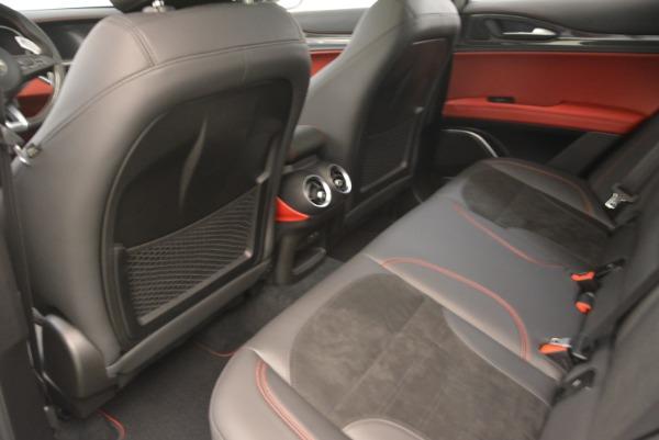 New 2018 Alfa Romeo Stelvio Quadrifoglio for sale Sold at Rolls-Royce Motor Cars Greenwich in Greenwich CT 06830 17