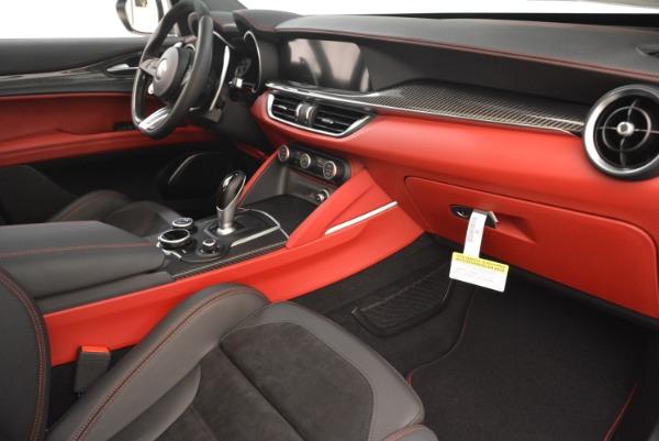 New 2018 Alfa Romeo Stelvio Quadrifoglio for sale Sold at Rolls-Royce Motor Cars Greenwich in Greenwich CT 06830 20