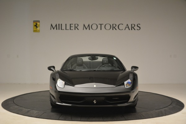 Used 2013 Ferrari 458 Spider for sale Sold at Rolls-Royce Motor Cars Greenwich in Greenwich CT 06830 12