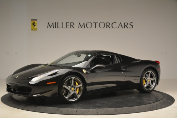 Used 2013 Ferrari 458 Spider for sale Sold at Rolls-Royce Motor Cars Greenwich in Greenwich CT 06830 14