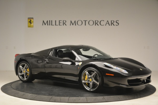 Used 2013 Ferrari 458 Spider for sale Sold at Rolls-Royce Motor Cars Greenwich in Greenwich CT 06830 22