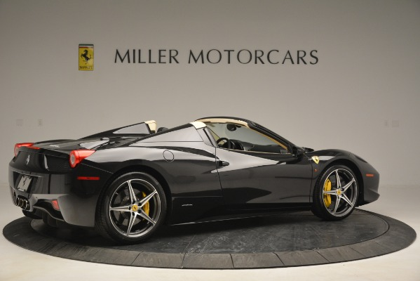 Used 2014 Ferrari 458 Spider for sale Sold at Rolls-Royce Motor Cars Greenwich in Greenwich CT 06830 8