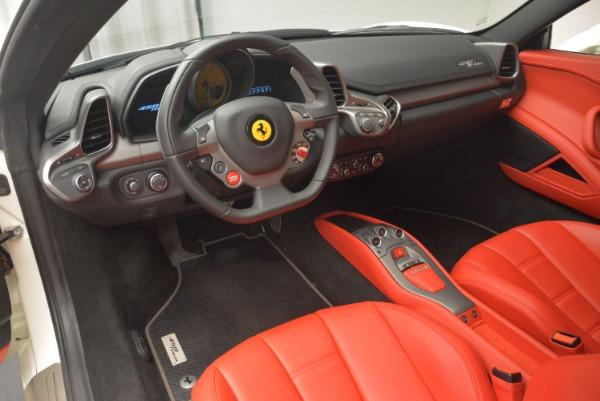 Used 2014 Ferrari 458 Italia for sale Sold at Rolls-Royce Motor Cars Greenwich in Greenwich CT 06830 13
