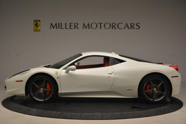 Used 2014 Ferrari 458 Italia for sale Sold at Rolls-Royce Motor Cars Greenwich in Greenwich CT 06830 3