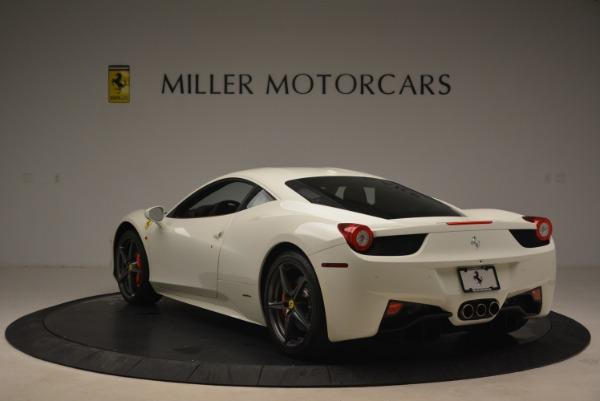 Used 2014 Ferrari 458 Italia for sale Sold at Rolls-Royce Motor Cars Greenwich in Greenwich CT 06830 5