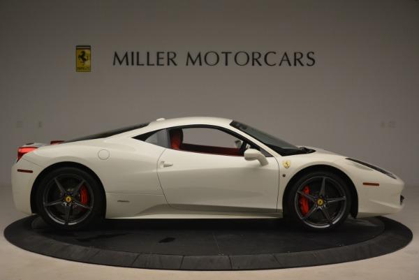 Used 2014 Ferrari 458 Italia for sale Sold at Rolls-Royce Motor Cars Greenwich in Greenwich CT 06830 9
