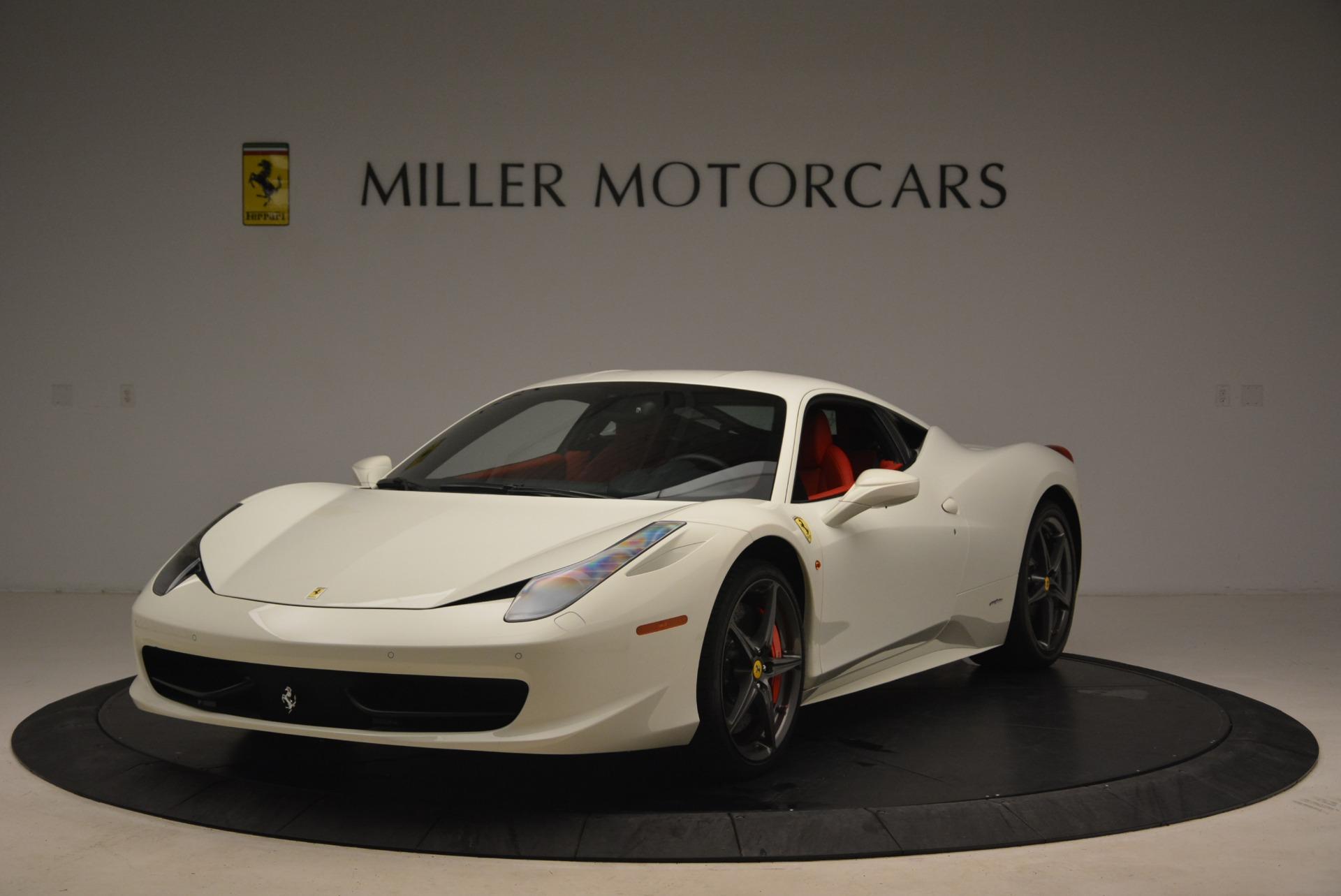 Used 2014 Ferrari 458 Italia for sale Sold at Rolls-Royce Motor Cars Greenwich in Greenwich CT 06830 1