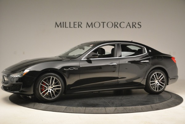 New 2018 Maserati Ghibli S Q4 for sale Sold at Rolls-Royce Motor Cars Greenwich in Greenwich CT 06830 3