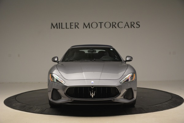 New 2018 Maserati GranTurismo Sport Convertible for sale Sold at Rolls-Royce Motor Cars Greenwich in Greenwich CT 06830 24