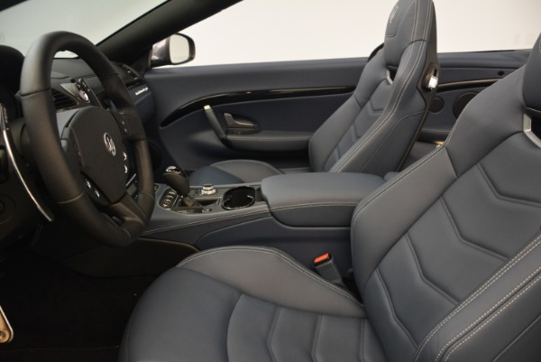 New 2018 Maserati GranTurismo Sport Convertible for sale Sold at Rolls-Royce Motor Cars Greenwich in Greenwich CT 06830 28