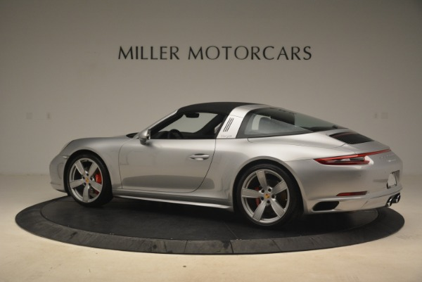Used 2017 Porsche 911 Targa 4S for sale Sold at Rolls-Royce Motor Cars Greenwich in Greenwich CT 06830 16