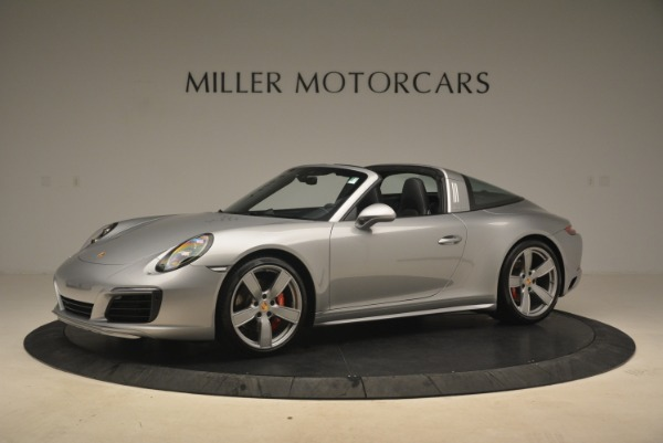 Used 2017 Porsche 911 Targa 4S for sale Sold at Rolls-Royce Motor Cars Greenwich in Greenwich CT 06830 2