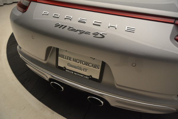 Used 2017 Porsche 911 Targa 4S for sale Sold at Rolls-Royce Motor Cars Greenwich in Greenwich CT 06830 28
