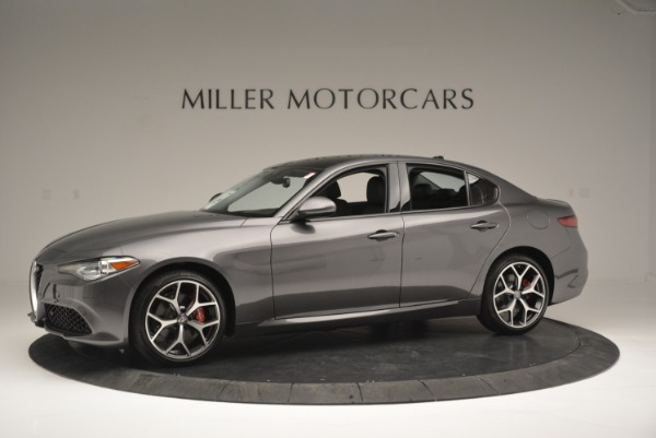 New 2018 Alfa Romeo Giulia Ti Sport Q4 for sale Sold at Rolls-Royce Motor Cars Greenwich in Greenwich CT 06830 2