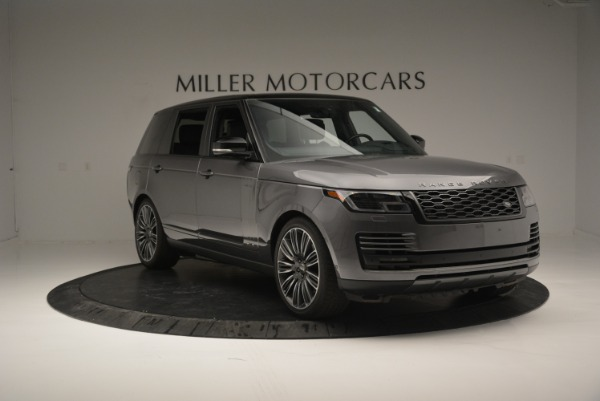 Used 2018 Land Rover Range Rover Supercharged LWB for sale Sold at Rolls-Royce Motor Cars Greenwich in Greenwich CT 06830 11