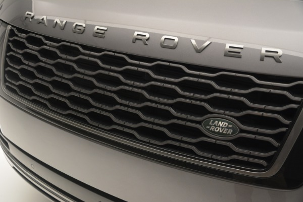 Used 2018 Land Rover Range Rover Supercharged LWB for sale Sold at Rolls-Royce Motor Cars Greenwich in Greenwich CT 06830 13
