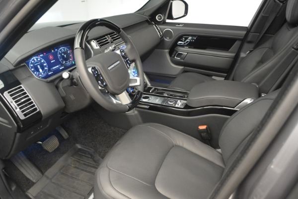 Used 2018 Land Rover Range Rover Supercharged LWB for sale Sold at Rolls-Royce Motor Cars Greenwich in Greenwich CT 06830 17