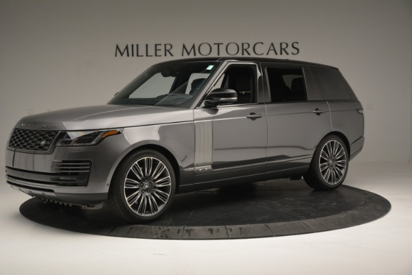 Used 2018 Land Rover Range Rover Supercharged LWB for sale Sold at Rolls-Royce Motor Cars Greenwich in Greenwich CT 06830 2