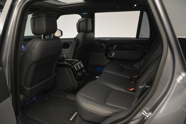 Used 2018 Land Rover Range Rover Supercharged LWB for sale Sold at Rolls-Royce Motor Cars Greenwich in Greenwich CT 06830 20
