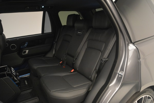 Used 2018 Land Rover Range Rover Supercharged LWB for sale Sold at Rolls-Royce Motor Cars Greenwich in Greenwich CT 06830 21