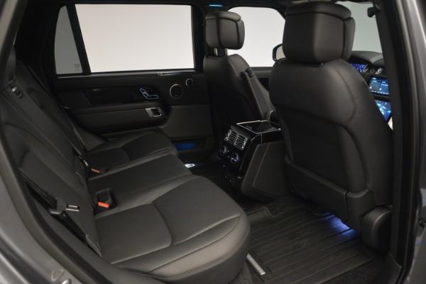 Used 2018 Land Rover Range Rover Supercharged LWB for sale Sold at Rolls-Royce Motor Cars Greenwich in Greenwich CT 06830 26