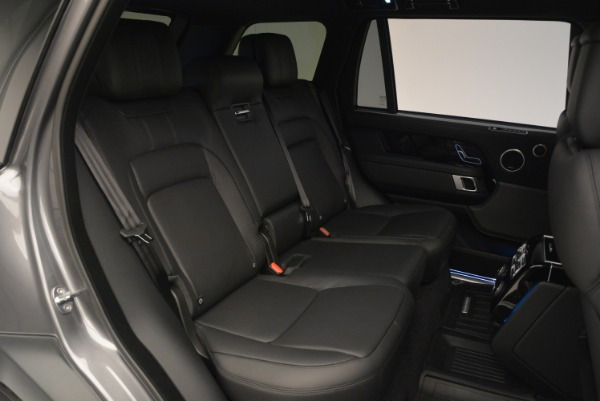 Used 2018 Land Rover Range Rover Supercharged LWB for sale Sold at Rolls-Royce Motor Cars Greenwich in Greenwich CT 06830 27