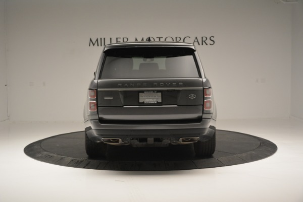 Used 2018 Land Rover Range Rover Supercharged LWB for sale Sold at Rolls-Royce Motor Cars Greenwich in Greenwich CT 06830 6