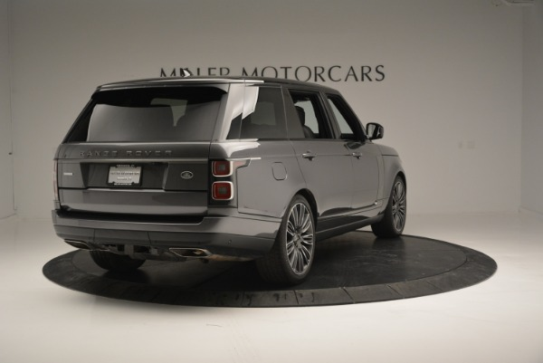 Used 2018 Land Rover Range Rover Supercharged LWB for sale Sold at Rolls-Royce Motor Cars Greenwich in Greenwich CT 06830 7