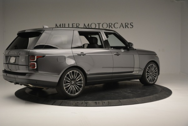 Used 2018 Land Rover Range Rover Supercharged LWB for sale Sold at Rolls-Royce Motor Cars Greenwich in Greenwich CT 06830 8