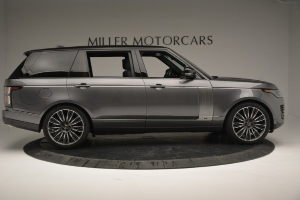 Used 2018 Land Rover Range Rover Supercharged LWB for sale Sold at Rolls-Royce Motor Cars Greenwich in Greenwich CT 06830 9