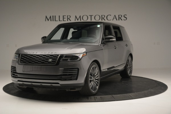Used 2018 Land Rover Range Rover Supercharged LWB for sale Sold at Rolls-Royce Motor Cars Greenwich in Greenwich CT 06830 1