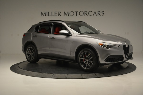 New 2018 Alfa Romeo Stelvio Ti Sport Q4 for sale Sold at Rolls-Royce Motor Cars Greenwich in Greenwich CT 06830 10