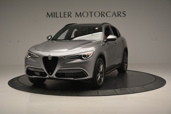 New 2018 Alfa Romeo Stelvio Ti Sport Q4 for sale Sold at Rolls-Royce Motor Cars Greenwich in Greenwich CT 06830 1