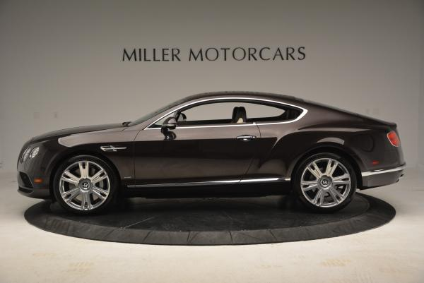 Used 2016 Bentley Continental GT W12 for sale Sold at Rolls-Royce Motor Cars Greenwich in Greenwich CT 06830 3